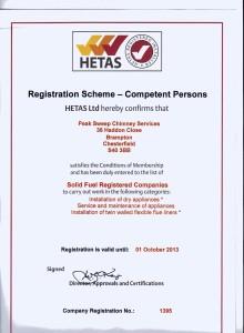 Certification Peak Sweep